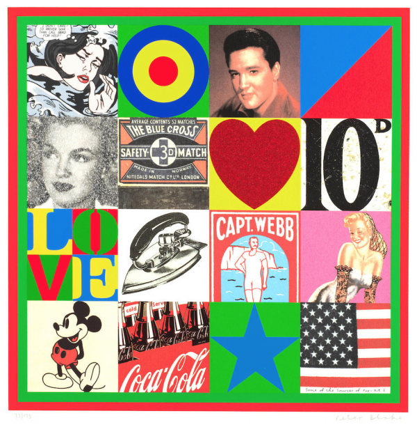 Some of the sources of Pop Art - I